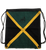 Jamaica Flag Draw String Bag
