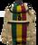 Jute Rasta Backpack Vertical Stripe