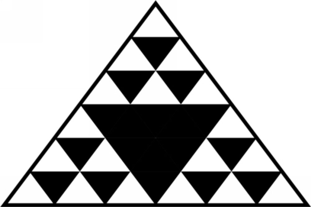 Hawaiian Tattoo Triangle 2 Car Decal
