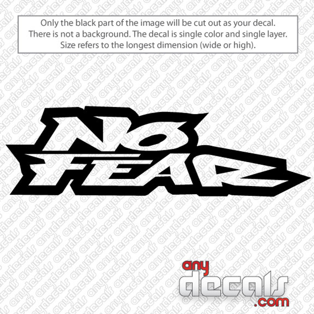 Window Stickers For Cars >> No Fear Car Decal
