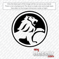 Holden Lion Circled Car Decal