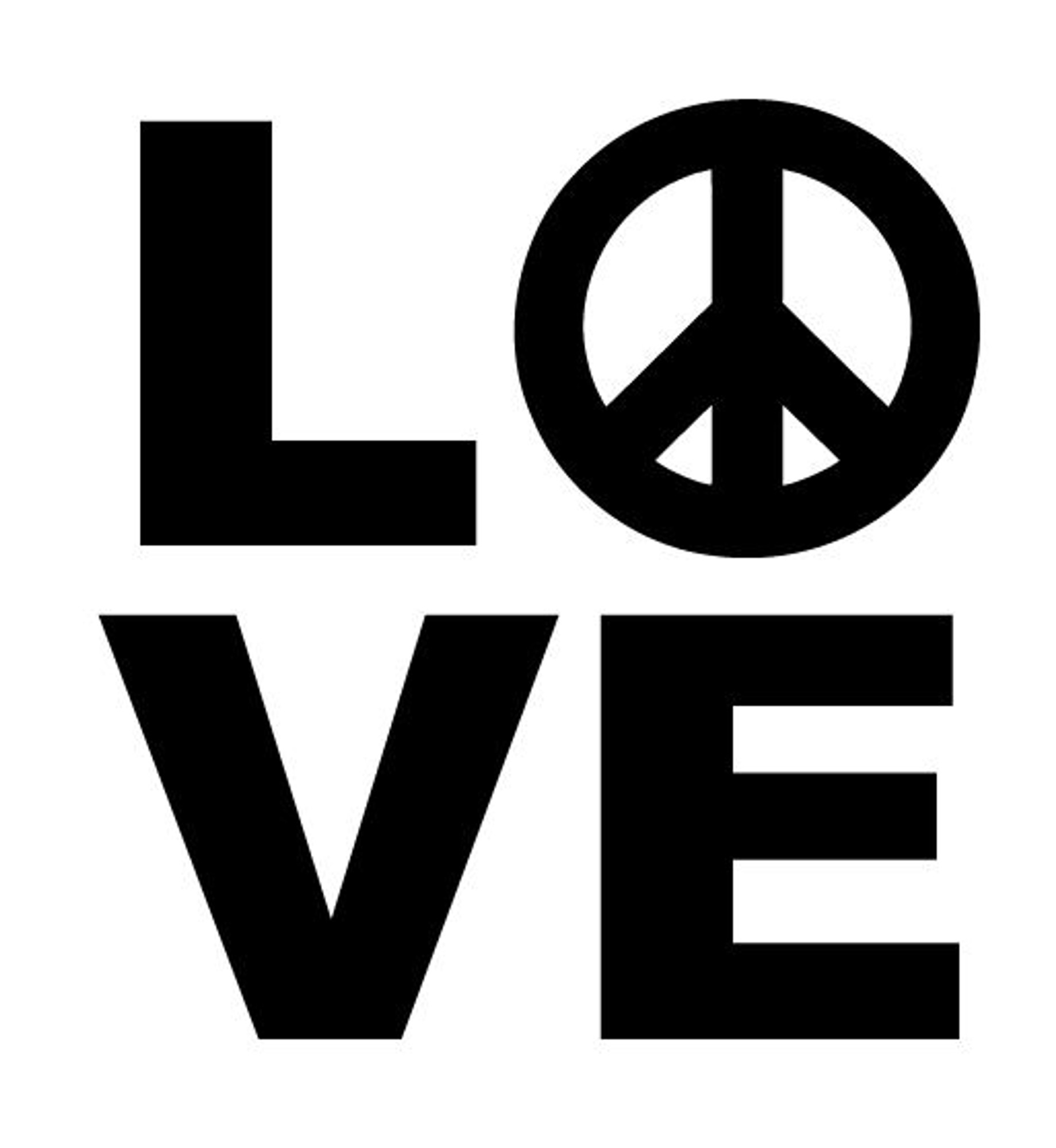 Stickers Peace and Love
