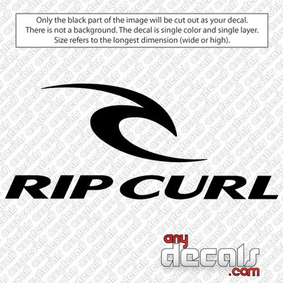 surf decals, skate decals, surf stickers, skate stickers, rip curl car decals, car decals, car stickers, decals for cars, stickers for cars