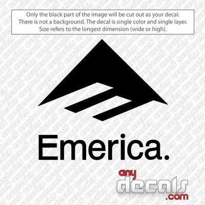 surf decals, skate decals, surf stickers, skate stickers, emerica car decals, car decals, car stickers, decals for cars, stickers for cars