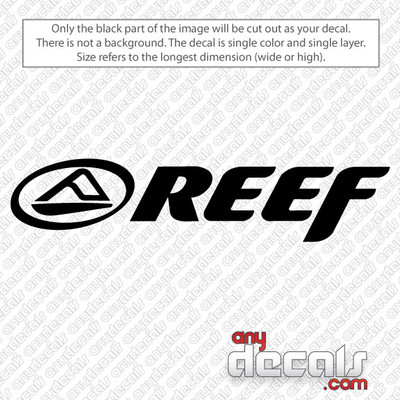 surf decals, skate decals, surf stickers, skate stickers, reef car decals, car decals, car stickers, decals for cars, stickers for cars