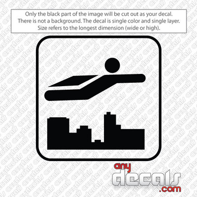 flying symbol car decals and stickers