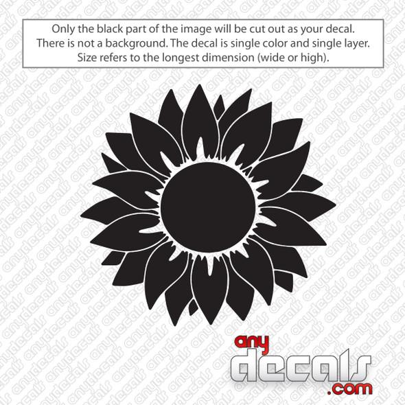 Sunflowers Decal Sticker