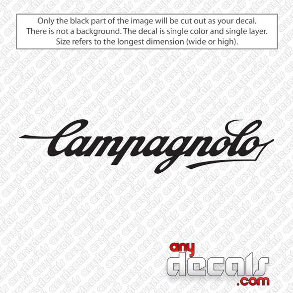 Campagnolo Logo Decal Sticker