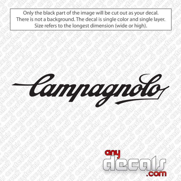 Campagnolo Logo Decal Sticker