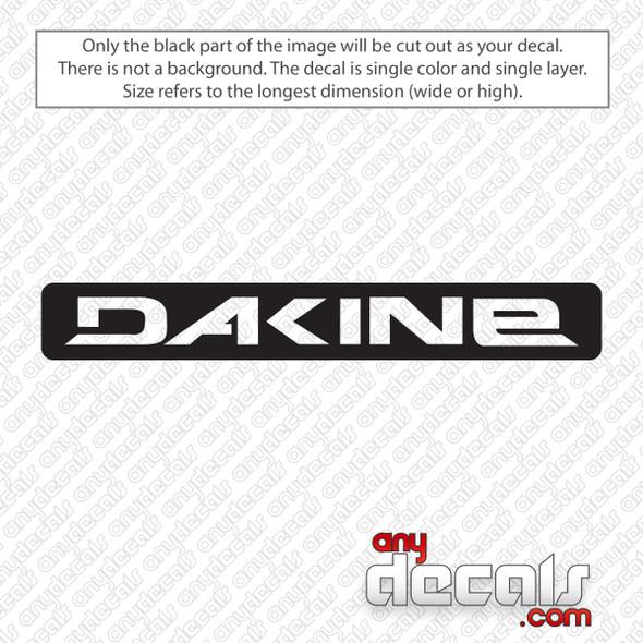 Dakine Rectangle Logo Decal Sticker