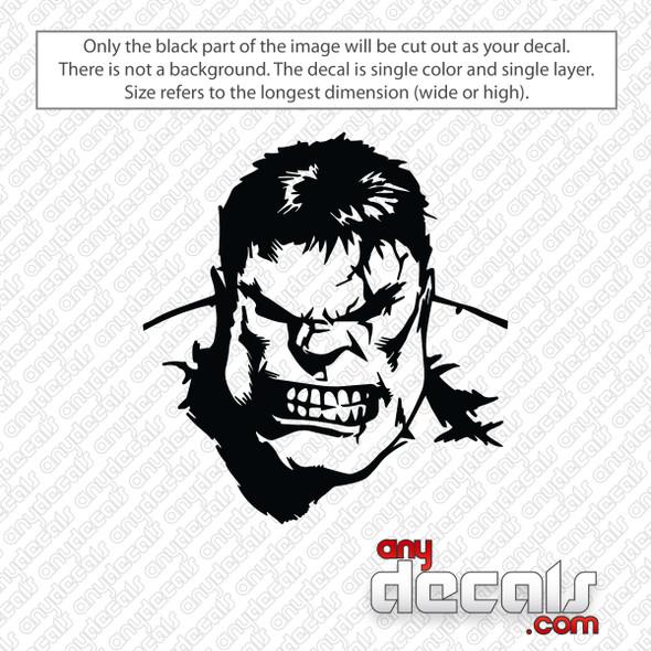 Hulk Decal Sticker