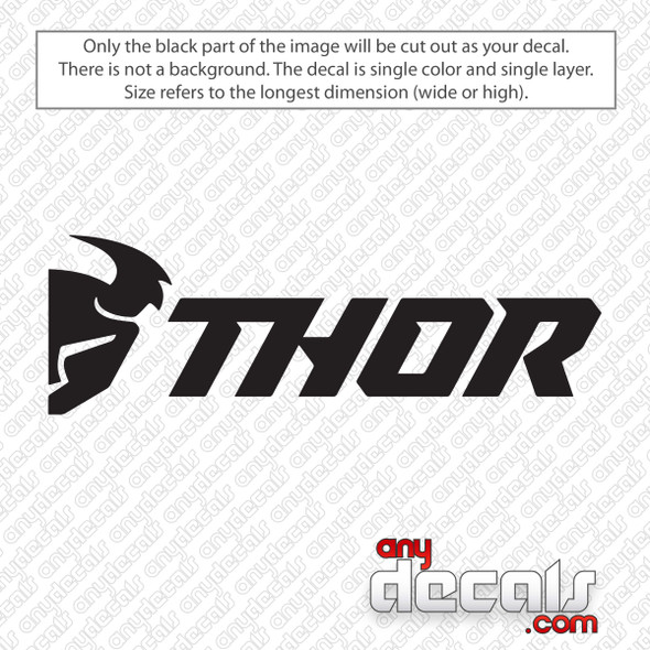 Thor Logo Decal Sticker