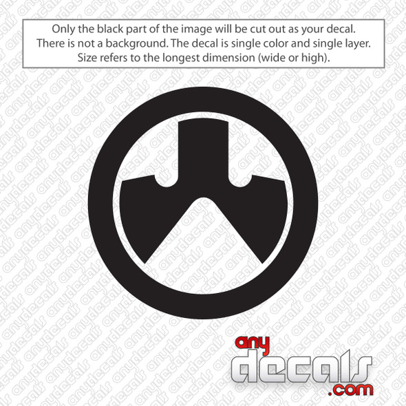 Magpul Emblem Decal Sticker