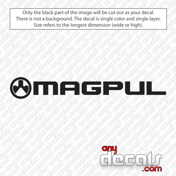 Magpul Logo Decal Sticker