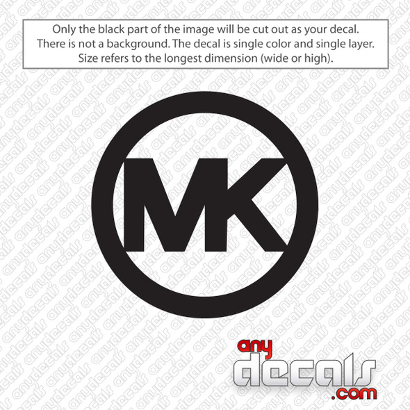 Michael Kors Emblem Decal Sticker