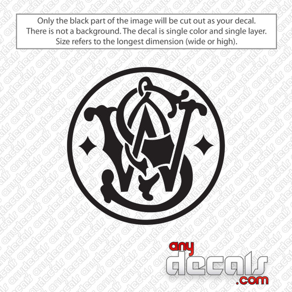 Smith & Wesson Emblem Decal Sticker