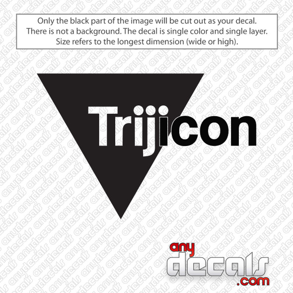 Trijicon Logo Decal Sticker