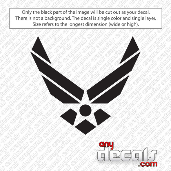 Air Force Symbol Decal Sticker
