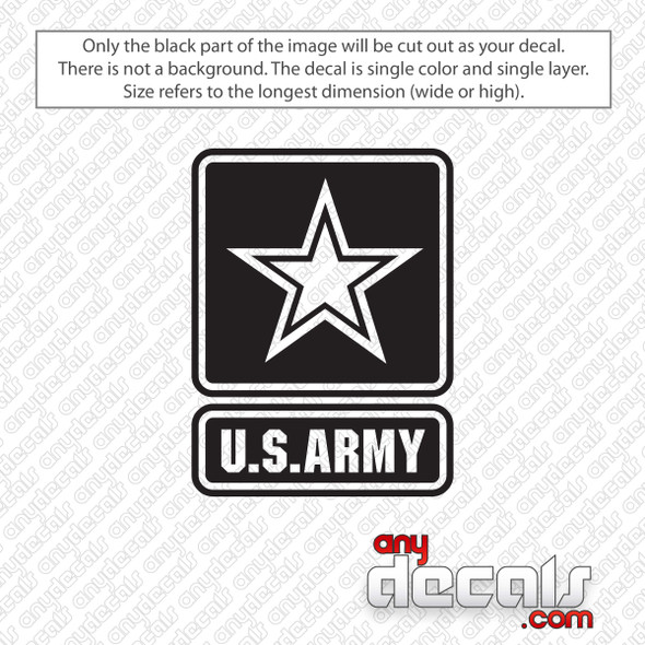 U.S. Army Logo Decal Sticker