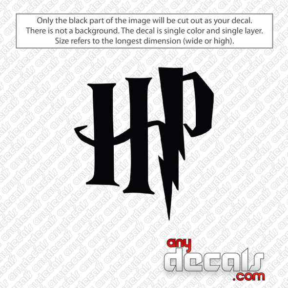 Harry Potter HP Logo Decal Sticker