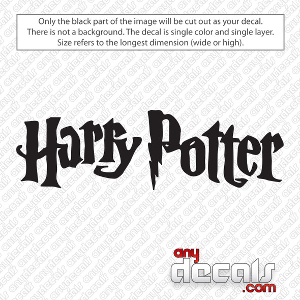 Harry Potter Logo Decal Sticker
