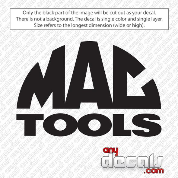 Mac Tools Decal Sticker