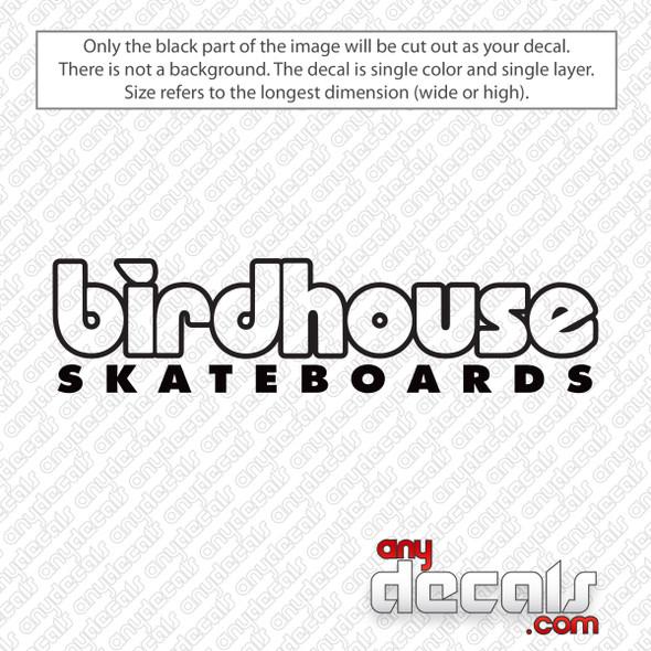 Birdhouse Skateboards Logo Decal Sticker