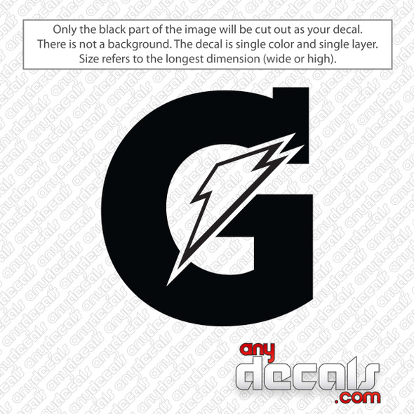 Gatorade Logo Decal Sticker