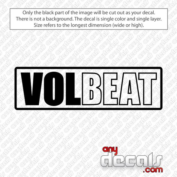Volbeat Logo Decal Sticker
