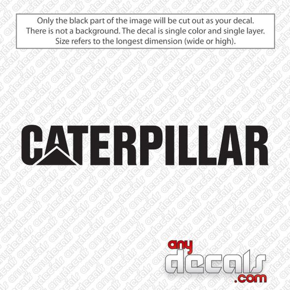 Caterpillar Logo Decal Sticker