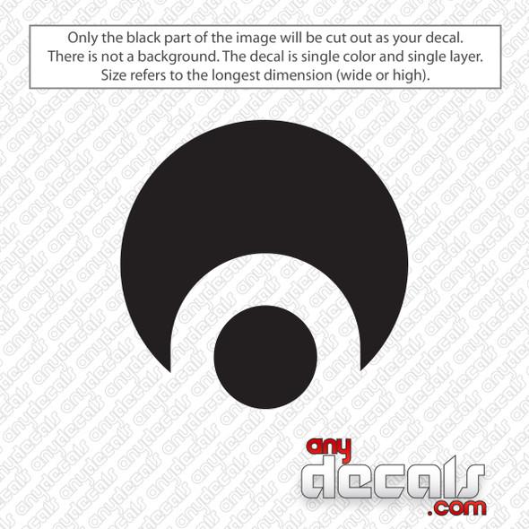 Osiris Circle Logo Decal Sticker