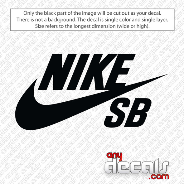 Nike SB Logo Decal Sticker