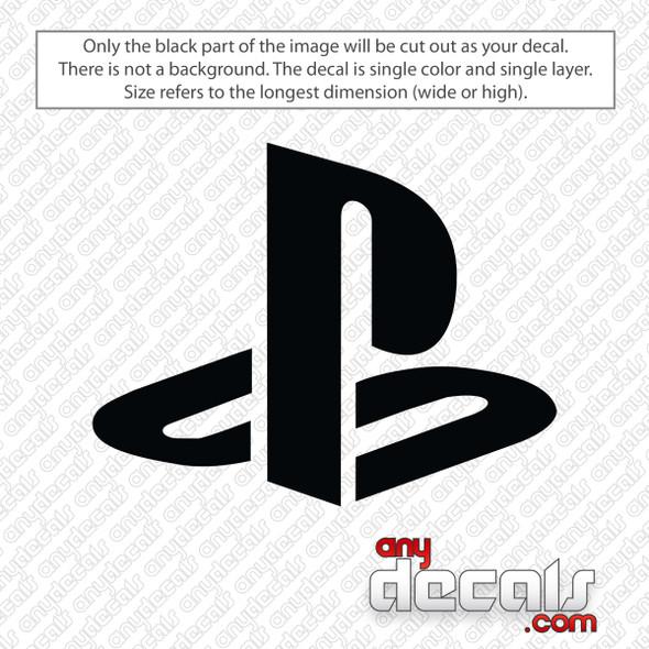 Playstation Logo Decal Sticker