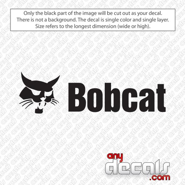 Bobcat Logo Decal Sticker