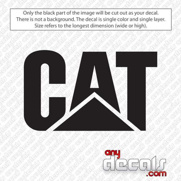 Caterpillar CAT Logo Decal Sticker