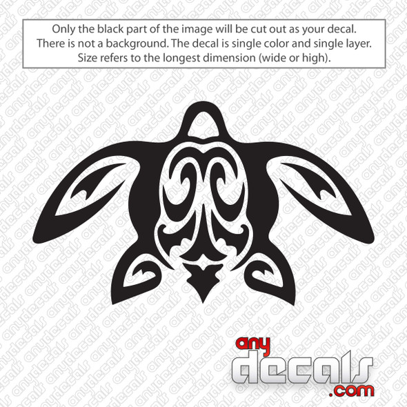 Honu Sea Turtle Decal Sticker