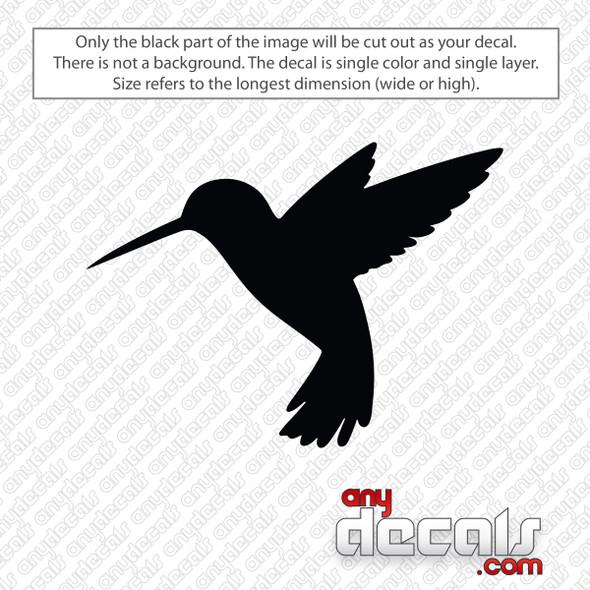 Hummingbird Decal Sticker