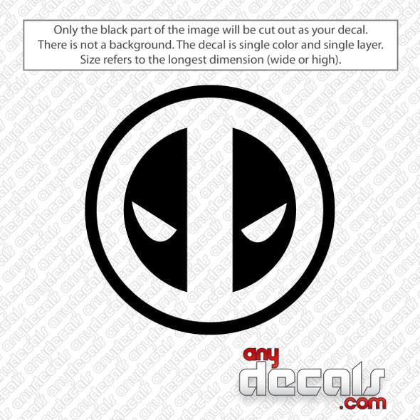Deadpool Logo Decal Sticker