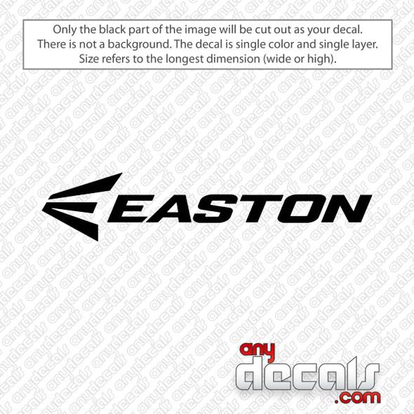 Easton Logo Decal Sticker