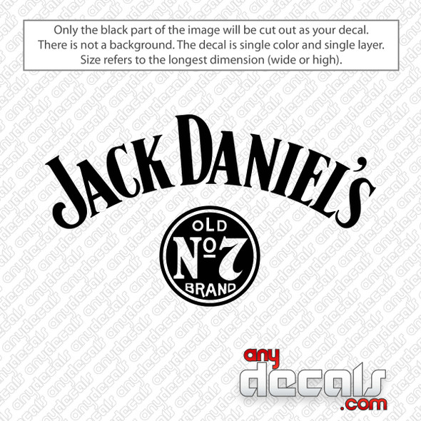 Jack Daniel's Logo Decal Sticker
