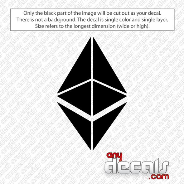 Ethereum Logo Decal Sticker