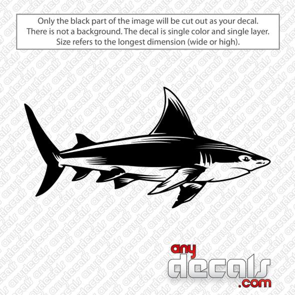 Shark Decal Sticker