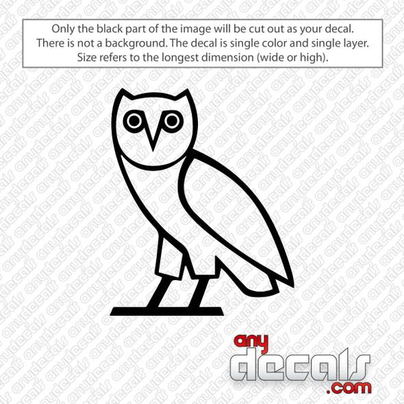 Ovo Owl Decal Sticker