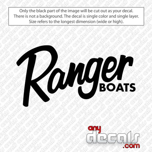 Ranger Boats Logo Decal Sticker