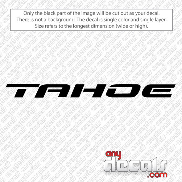 car decals, truck decals, chevy tahoe decals