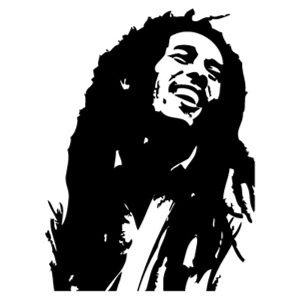 Bob Marley Car Decal