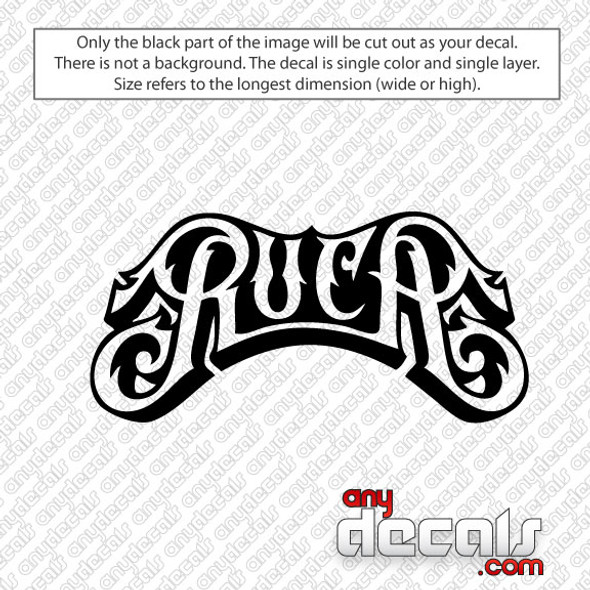 surf decals, skate decals, surf stickers, skate stickers, RVCA car decals, car decals, car stickers, decals for cars, stickers for cars