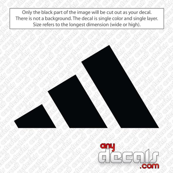 Adidas Logo Decal Sticker