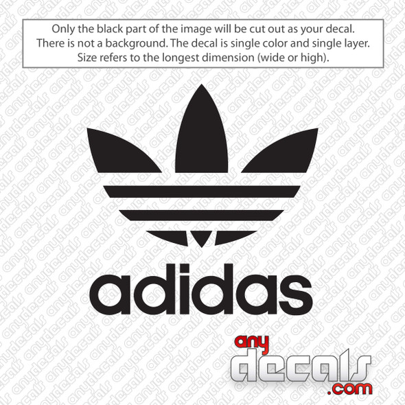 Adidas Trefoil Logo Decal Sticker