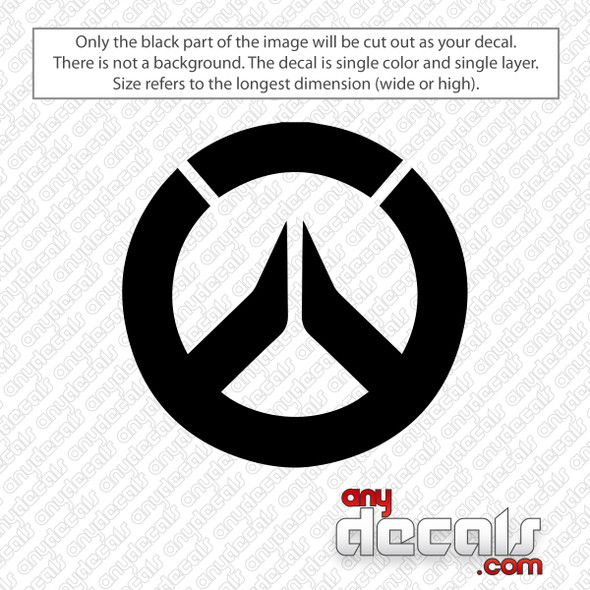Overwatch Logo Decal Sticker